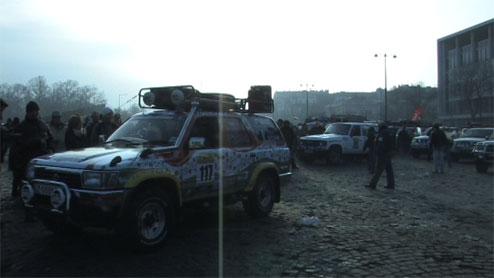 Elstartolt a Bamako Rali