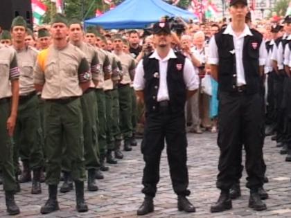 Ifjú magyar gárdisták