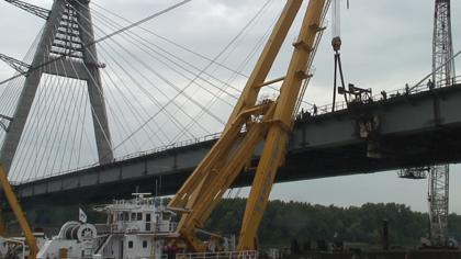 Majdnem kész a Colbert híd