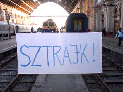 Vasutas sztrájk