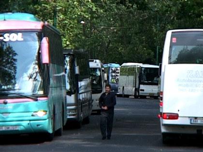 Budapest legzöldebb buszparkolója