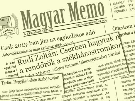 Magyar Memo 0923