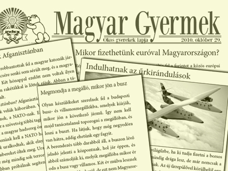 Magyar Gyermek, 2010. október 29.