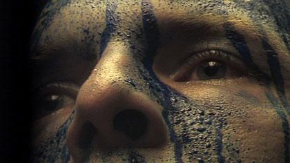 Kék izzadság az Ars Elecrtonicán