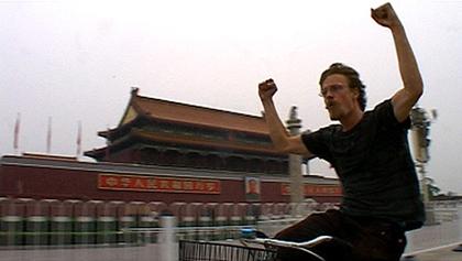Bicikliverseny a Kínai Nagy Falon
