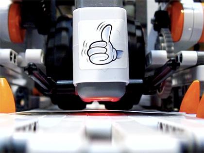 Robot dealer Budapesten
